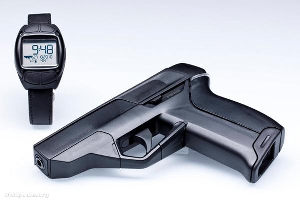 Armatix iP1 is a smart gun pistol