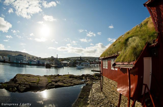 1. Dánia A képen a Torshav kikötő