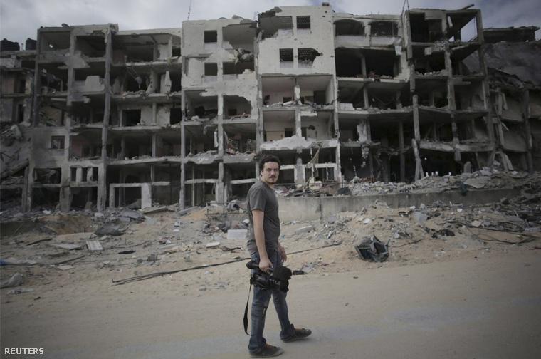 Simone Camilli Gázában