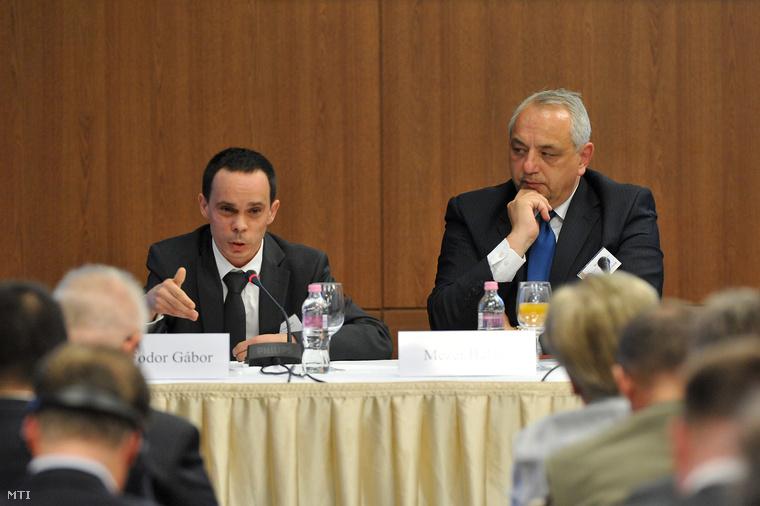 G. Fodor Gábor a Századvég Alapítvány igazgatója