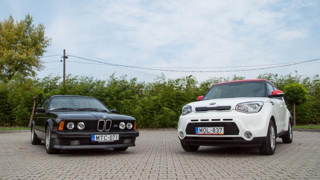 Paradox, de a hatos BMW úgy él emlékezetünkben, mint egy nagy tepsi. Ehhez képest...