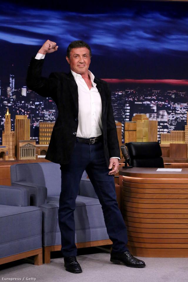 Jimmy Fallon esti show-jában pózolt egy tökéleteset