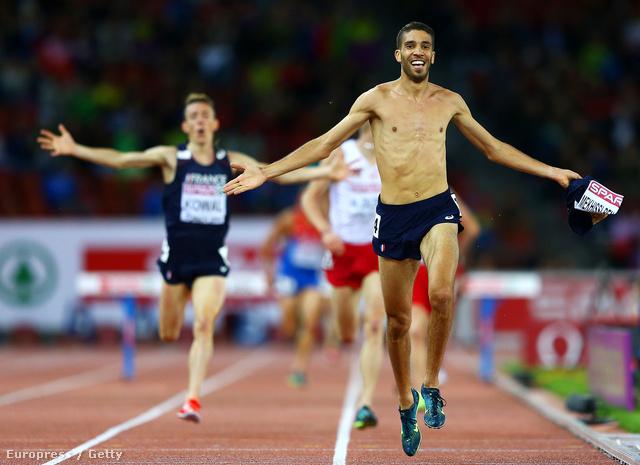 Mahiedine Mekhissi-Benabbad megnyerte a 3000 méteres akadályfutást