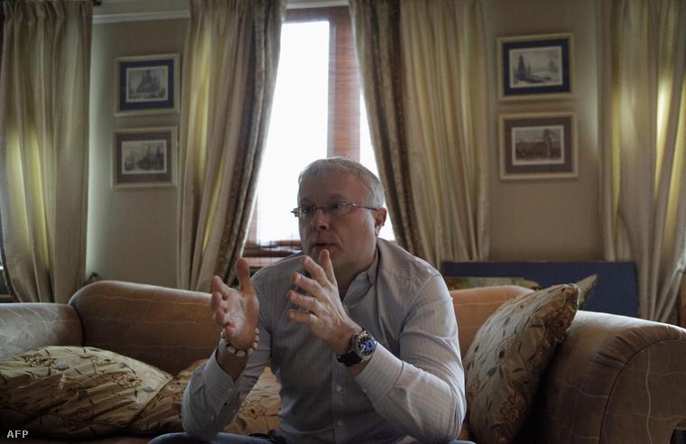 Alekszandr Lebedev, az Independent ex-KGB-s tulajdonosa