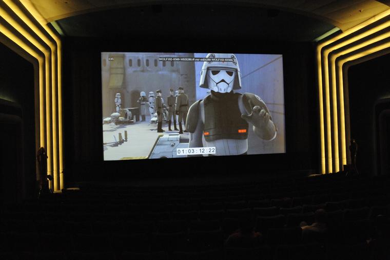 A San Francisco-i Lucasfilm irodaházban és a Skywalker Ranch-en is belenézhettünk a Star Wars Rebelsbe