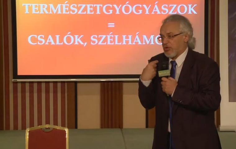 Dr. Taraczközi István orvos-természetgyógyász, a Magyar Természetgyógyászok Szövetségének elnöke.