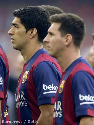 Az októberi El Clásicóig kell majd várni, hogy tétmeccsen összeálljon a Suárez-Messi páros