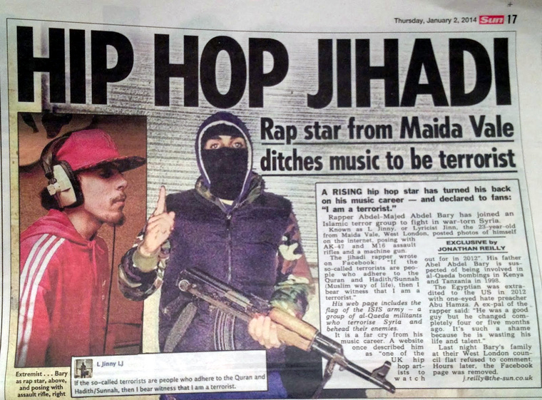 hip hop jihadi