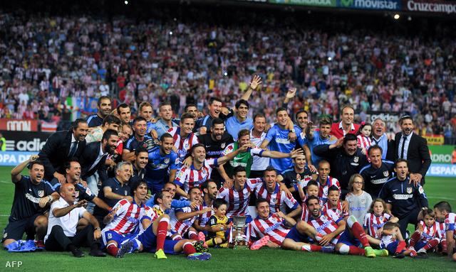 29 év után nyert újra Spanyol Szuperkupát az Atlético