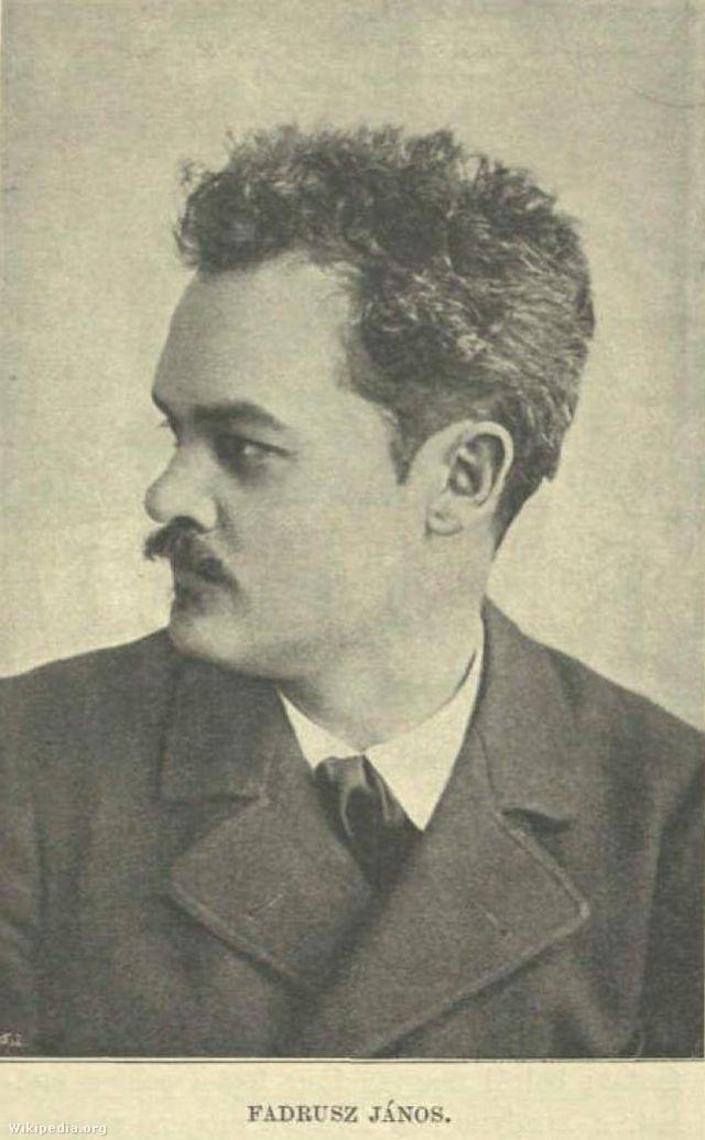 Fadrusz János - Vasárnapi Ujság 1897/20