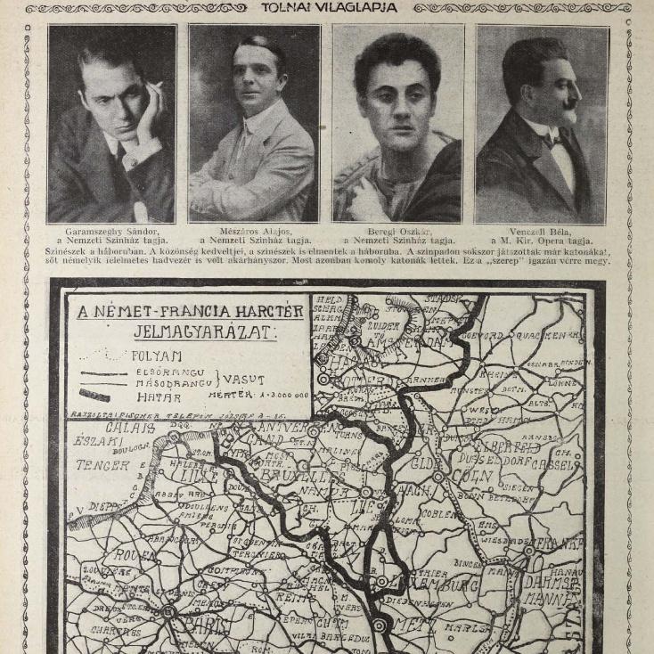 Olvasson bele a 100 évvel ezelőtti újságokba az Arcanum archívumban - kattintson!