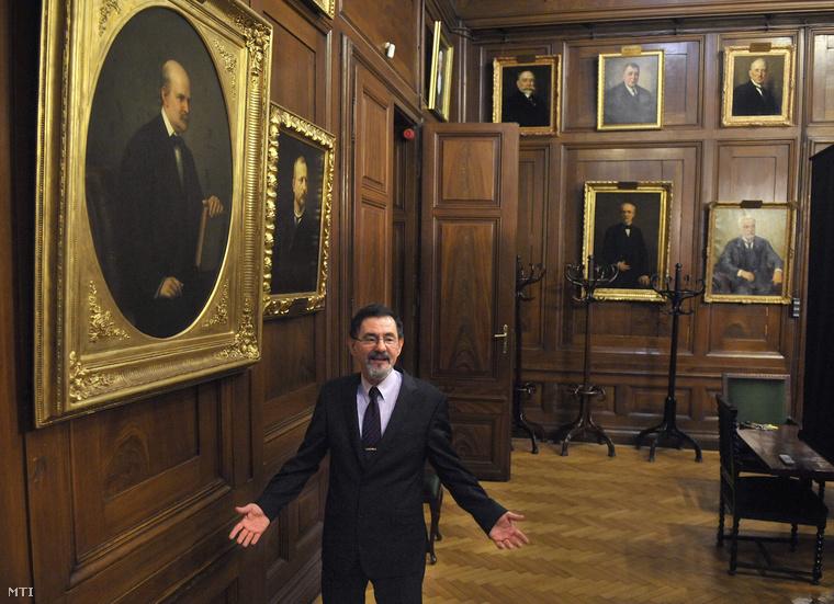 Szél Ágoston, a Semmelweis Egyetem rektora