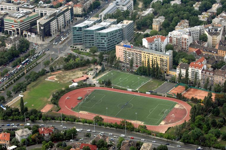 A Testnevelési Főiskola sportpályái