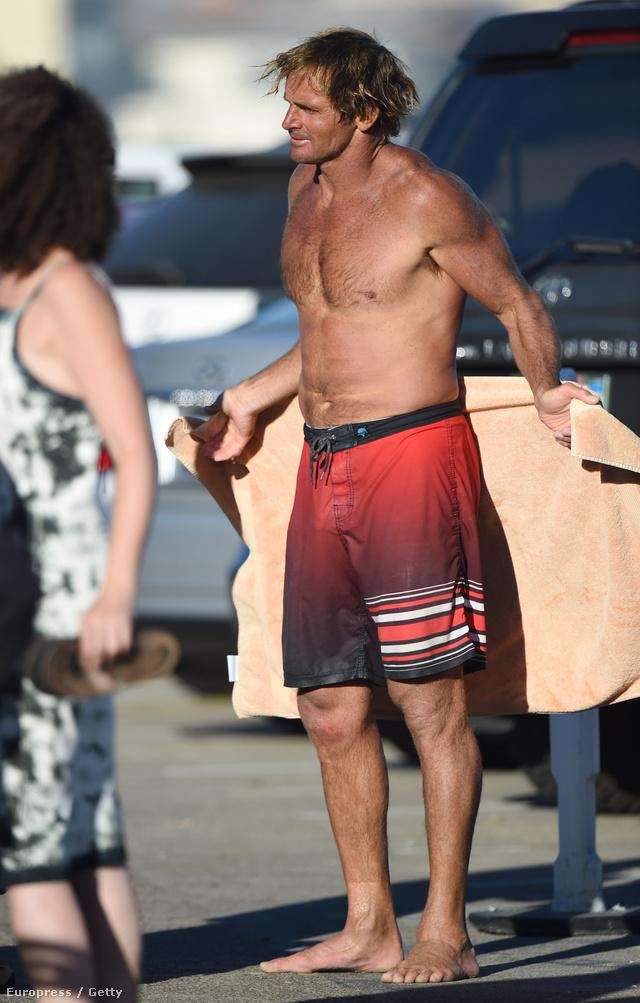 Laird Hamilton 2014. augusztus 27-én, Malibuban