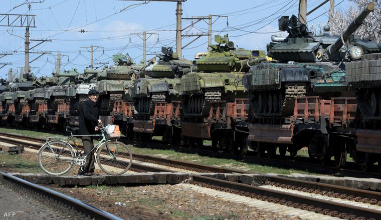 T-72 tankok (képünk illusztráció)