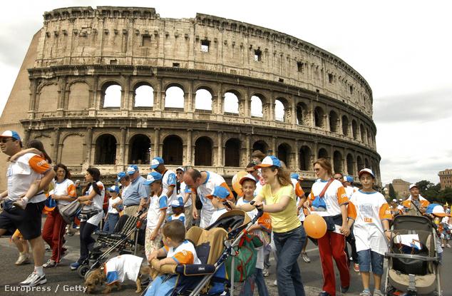 A Colosseum Róma egyik kihagyhatatlan látnivalója