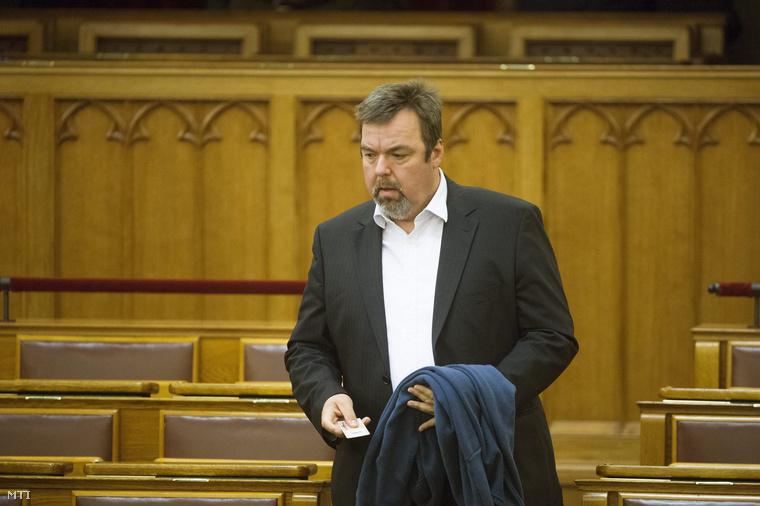 L. Simon László parlamenti államtitkár, az NKA korábbi vezetője