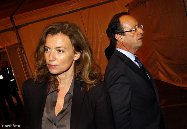 Trierweil és Hollande 2012-ben még együtt