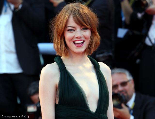 Emma Stone a Velencei Filmfesztiválon