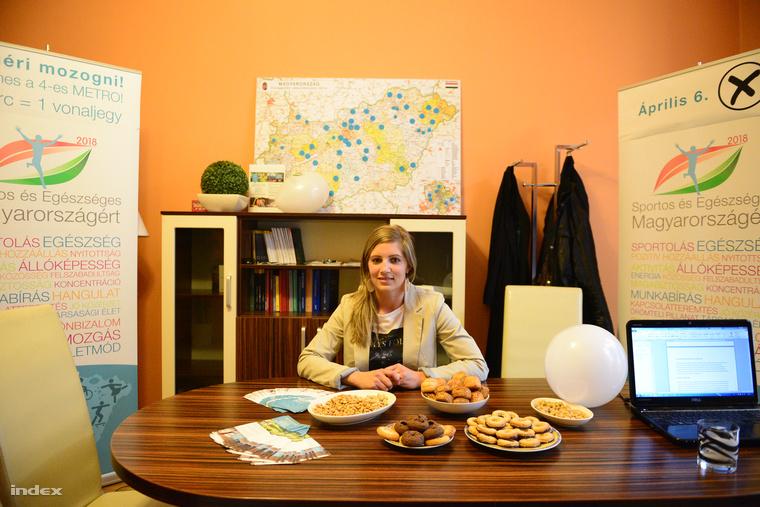 A Sportos és Egészséges Magyarországért párt irodája a választás napján