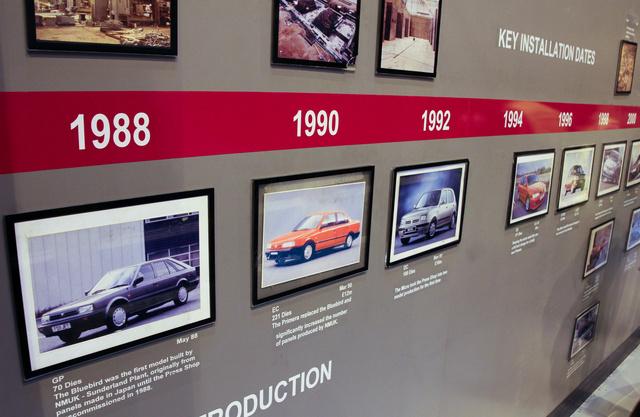 A présüzemben 1988 óta zajlik termelés, azóta igazi autógyár a sunderlandi üzem