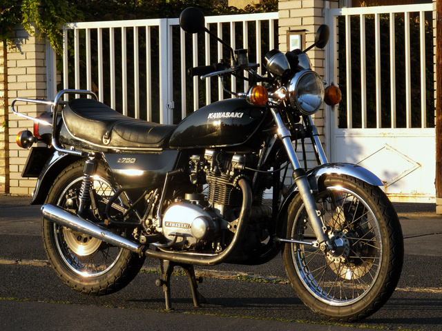 Taras és a régi KZ750 még barátok voltak