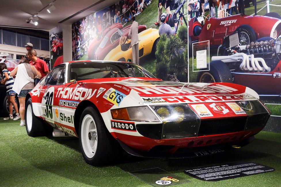 Vic Elford, sorozatos rali-, Sebring-, Daytona-, Targa Florio-nyertes, Le Mans-i körrekord-döntő vezette ezt a versenyzésre átalakított Daytonát Le Mans-ban 1972-ben, s kategóriagyőzelmet szerzett vele. Nem konkrétan ezzel az autóval, de pont ilyennel utána még '73-ban, '74-ben is sikeres volt La Sarthe-ban a Ferrari, s a daytonai 24 óráson még 1979-ben is jó volt egy második helyezésre a típus