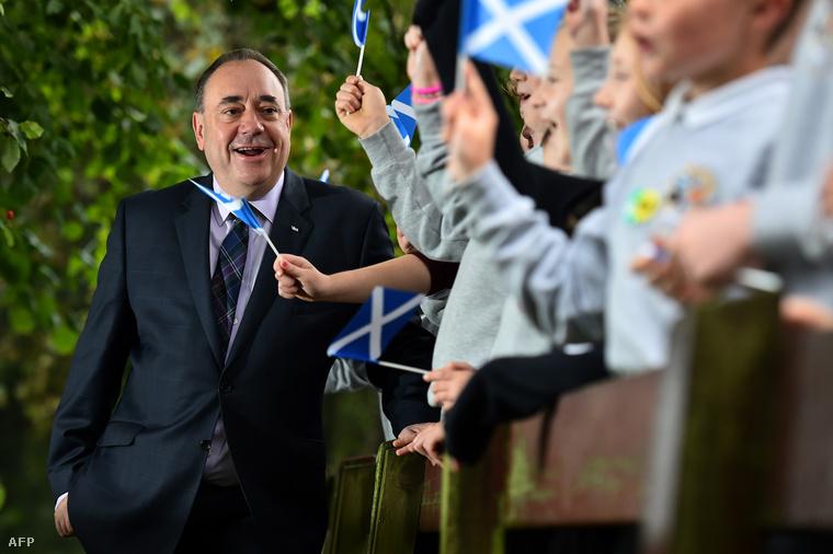 Alex Salmond skót miniszterelnök