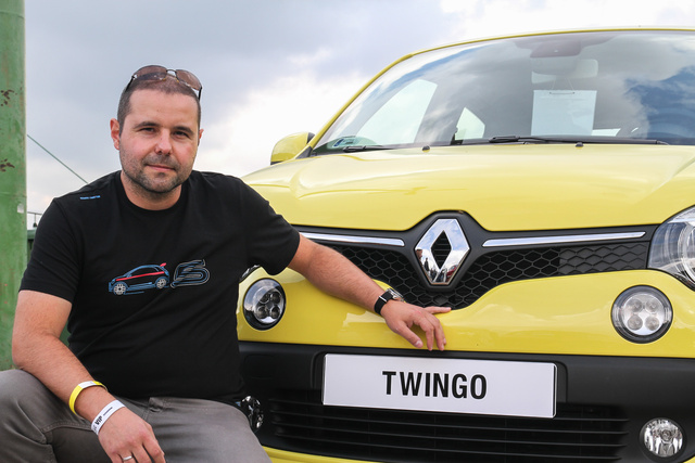 Wittinger csaba és az új Twingo