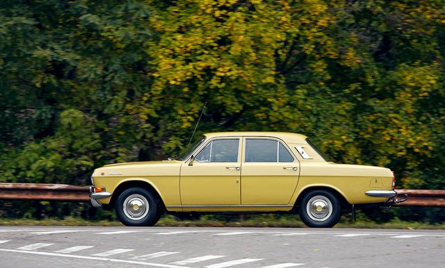 A Volga étvágyáról különféle horrortörténetek keringenek, pedig a mai benzinekkel pedig még a gyári adatoknál is jobb a fogyasztás