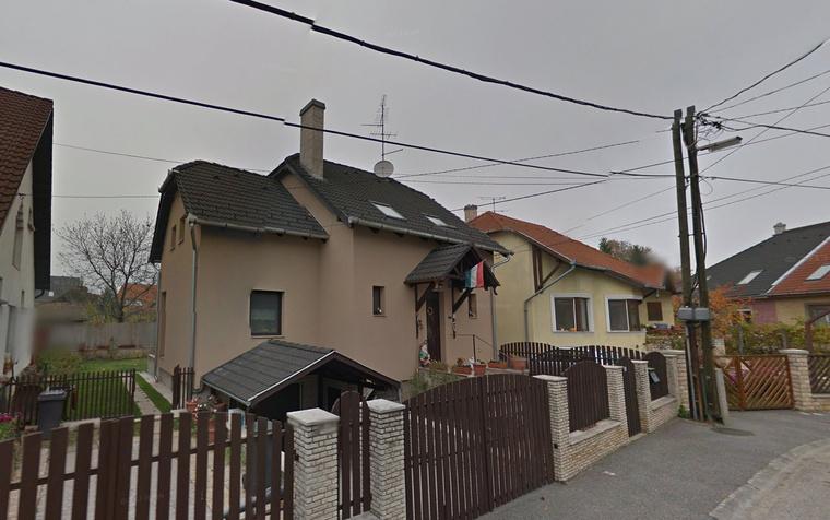 Szijjártó Péter győri háza a Majorok utcában