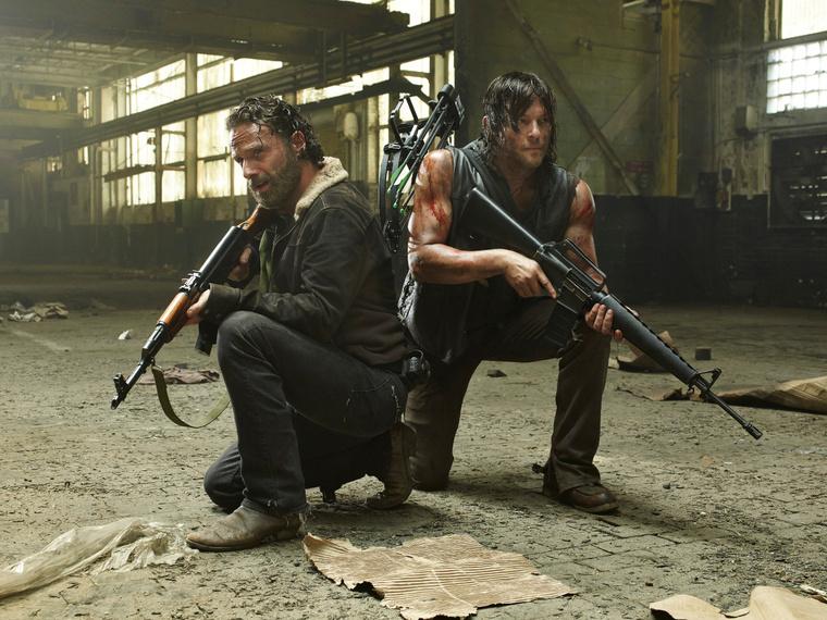 Daryl és Rick.
