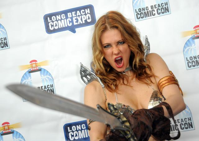A Long Beach-i Comic Con közönségét hergelte így.