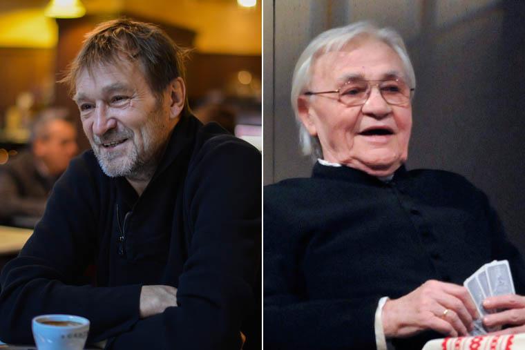 Cserhalmi György és Bitskey Tibor