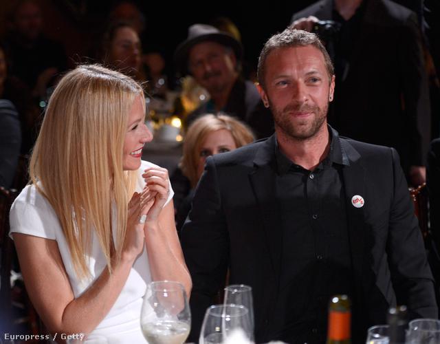 Az elválaszthatatlan páros. - Chris Martin és Gwyneth Paltrow