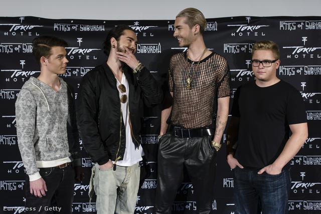 A Tokio Hotel most