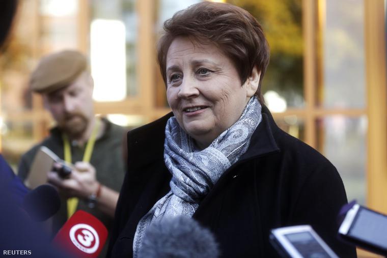 Laimdota Straujuma, lett miniszterelnök