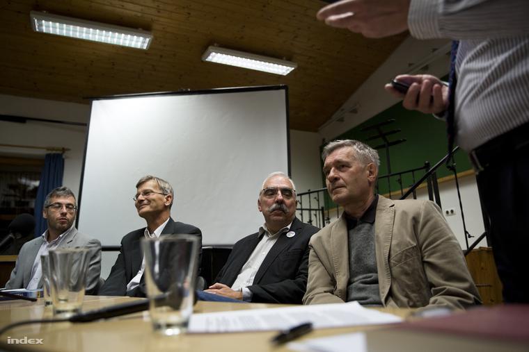 Dési János, Demszky Gábor, Bokros Lajos és Atkári János
