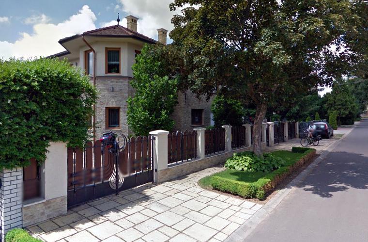 A Kósa család jelenlegi háza Debrecenben