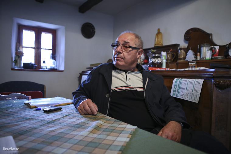Csitári Tibor 2006-ig nyolc éven át vezette a falut