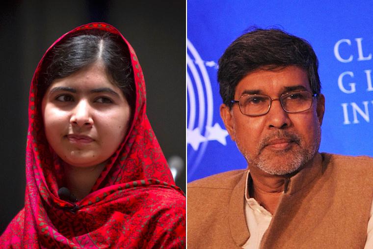 Malala Juszafzai és Kailás Szatjárti