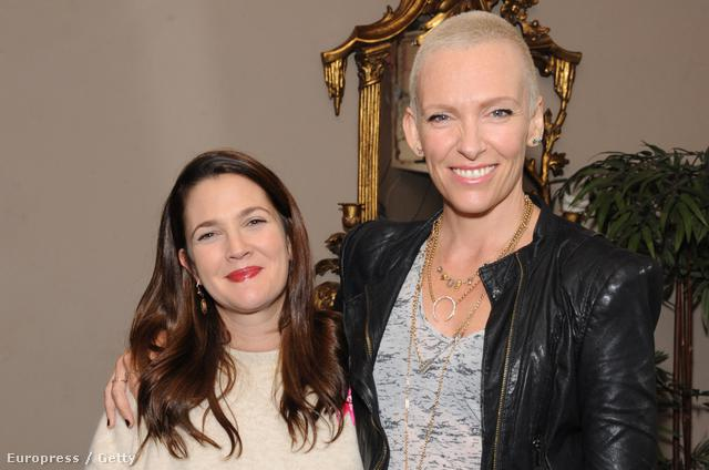 Drew Barrymore és Toni Collette a Miss You Already című film eseményén Londonban