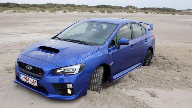 A Subaru nem homokfutó