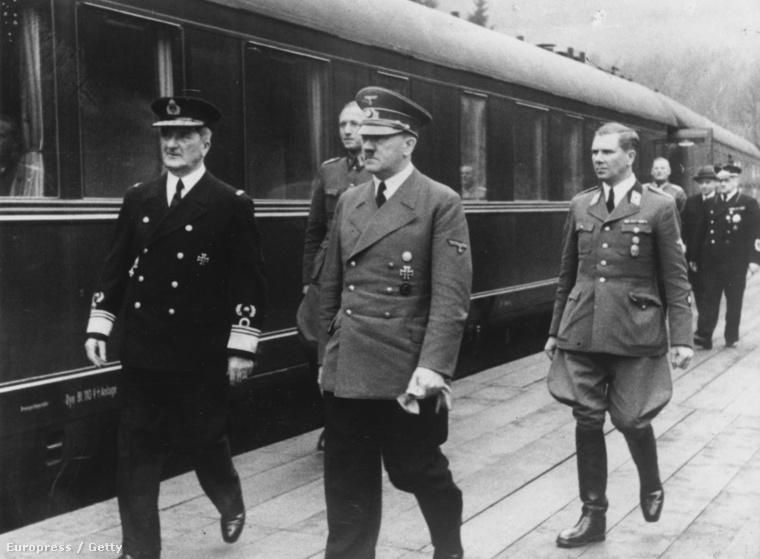 Horthy és Hitler