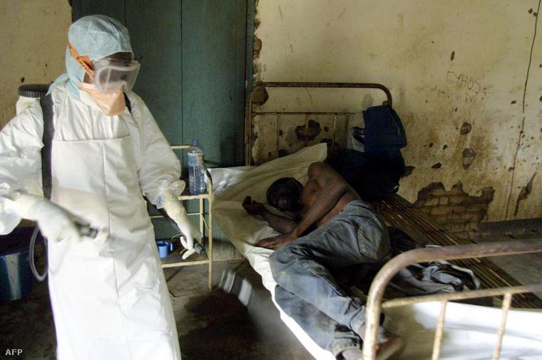 Ebolás beteg Kongóban