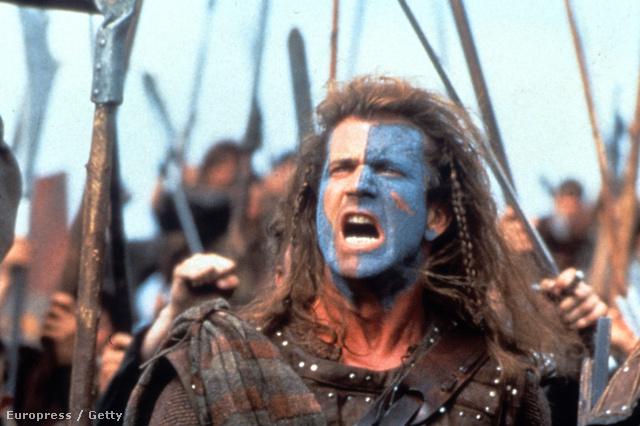 Mel Gibson ezzel szemben így képzelte el a Skócia függetlenségéért folytatott harcot