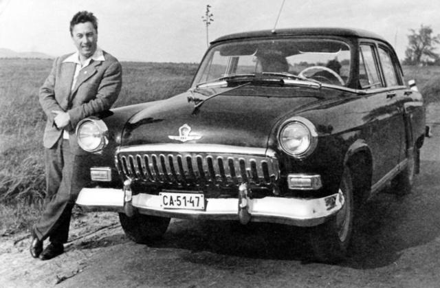 A Szovjetunióban vásárolt Volgával Fiuméban is járt