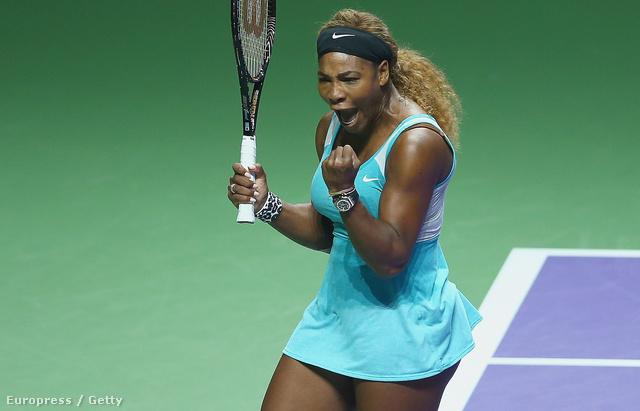 Serena Williams játék közben