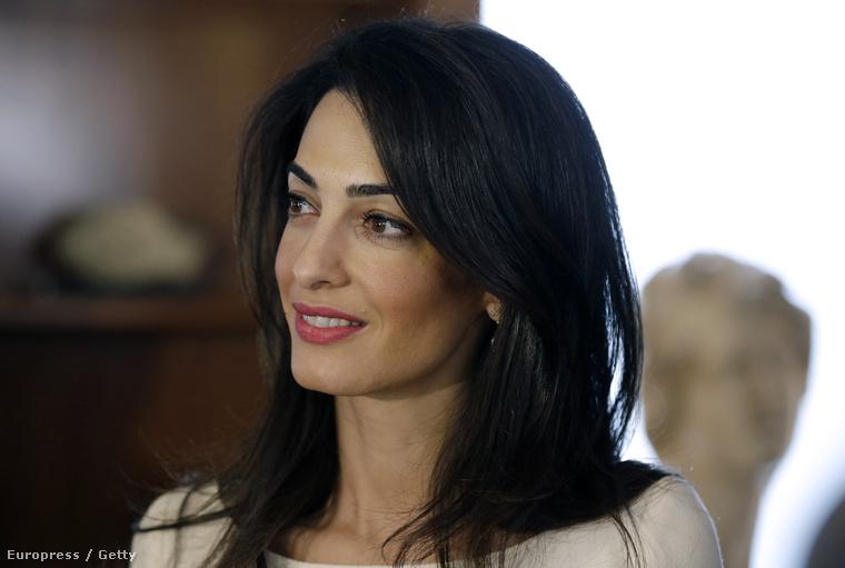 Amal Alamuddin, akarjuk mondani Amal Clooney