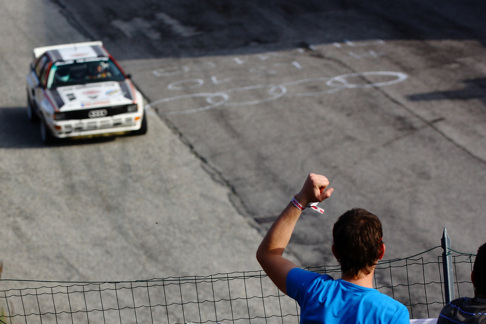 El sem tudnék képzelni Rally Legend futamot Audik nélkül és valószínűleg ezzel nem vagyok egyedül. Bármilyen típus is legyen belőlük a nézők mindig kitörő örömmel fogadják őket